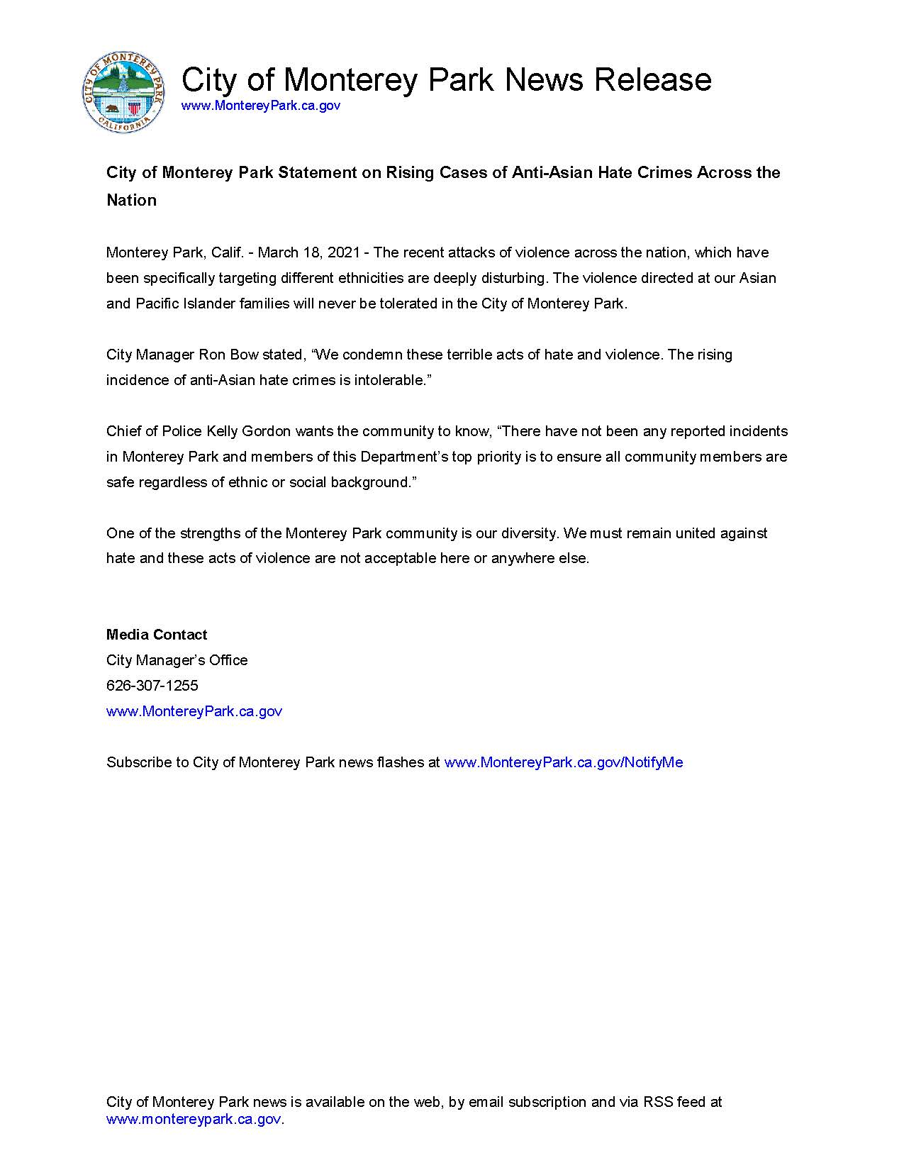 MPK News Release-Anti-Asian Hate Crime