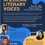 Asian American Author Panel May 2021