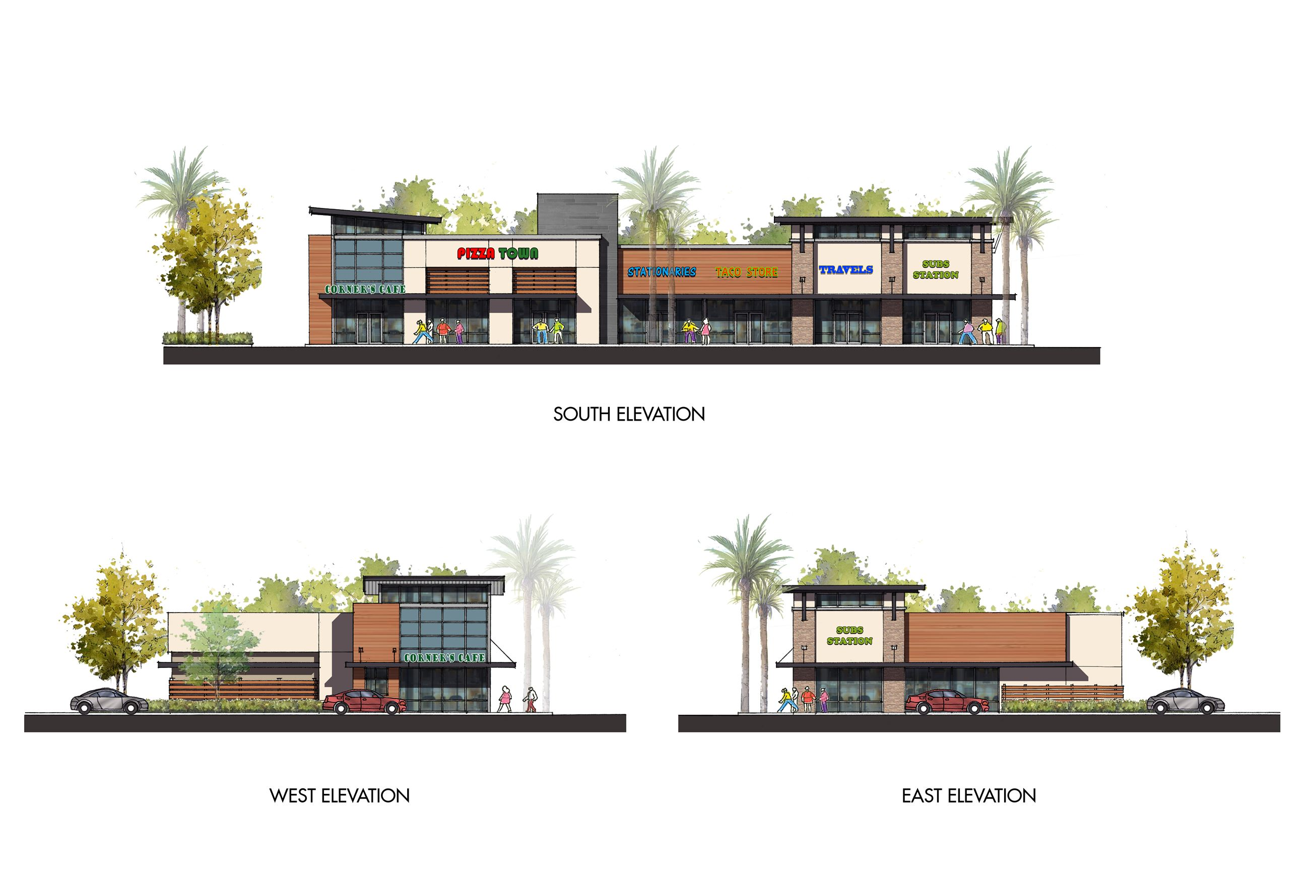 Monterey Park_Elevations_Pad 1