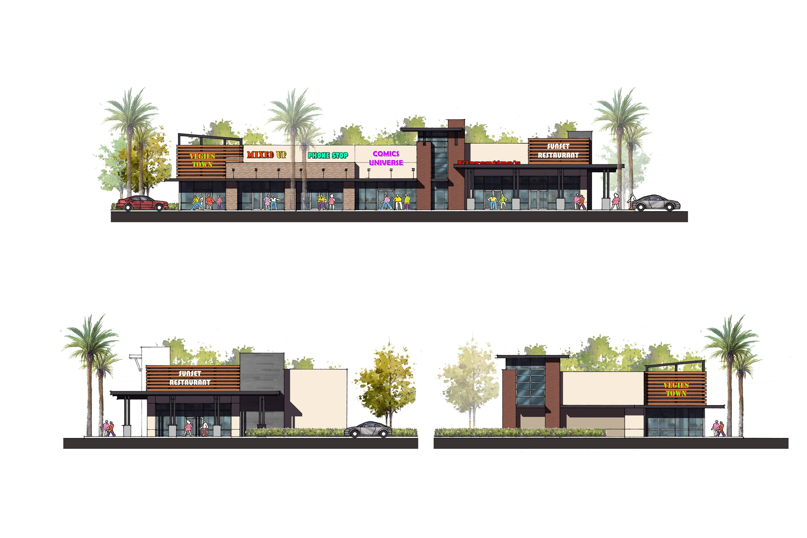 Monterey Park_Elevations_Retail B